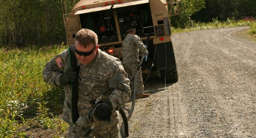 Alaska Gov. Parnell: National Guard chief fired officers competing with him for a job