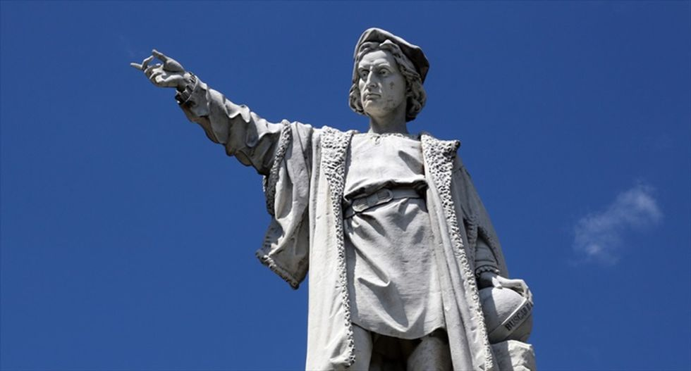 Conservatives reinvent Christopher Columbus as anti-Muslim crusader to excuse atrocities