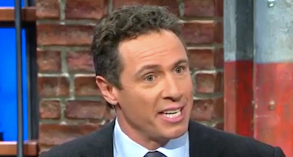 CNN's Chris Cuomo blisters 'Morning Joe' rivals -- and calls them Trump's 'transition spokesmen'