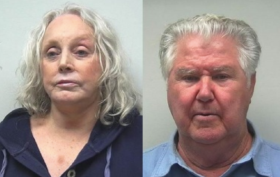 WATCH: Alabama grandparents arrested after department store brawl with mall cop