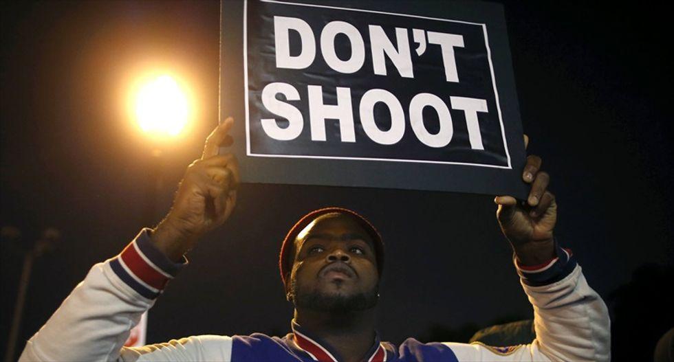 WATCH LIVE: Protests resume in Ferguson as 'weekend of resistance' begins