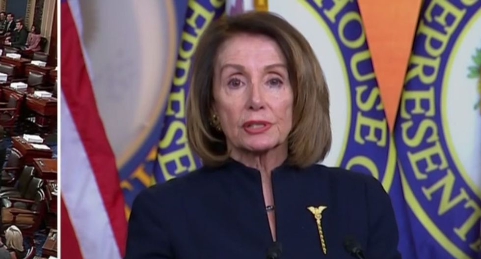 Pelosi tosses Trump's national emergency threat back in his face: A Dem president could declare an emergency too