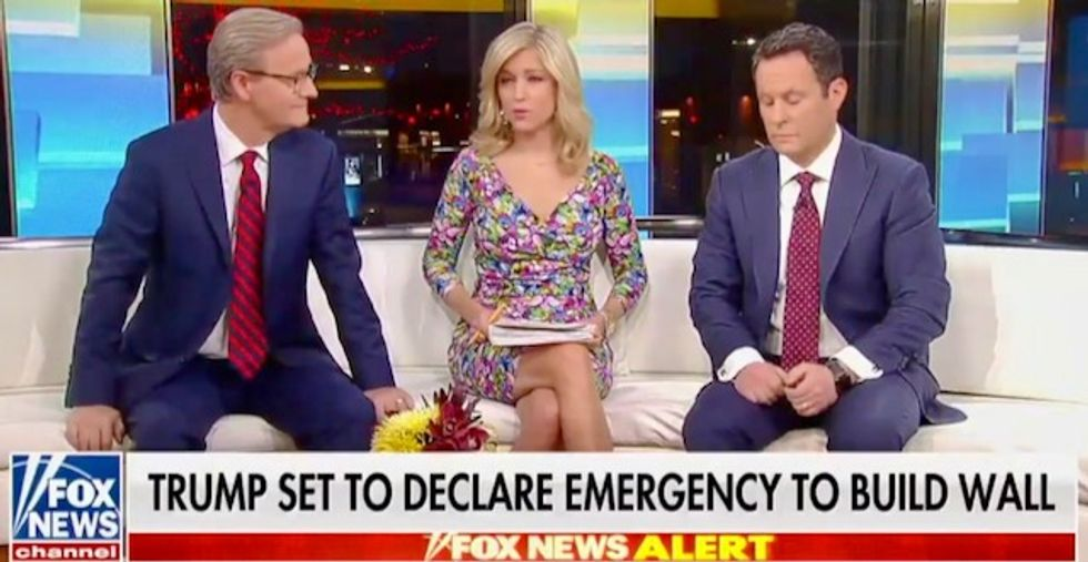 Fox & Friends: Trump has to declare a national emergency because 'people went to the polls to vote for that wall'