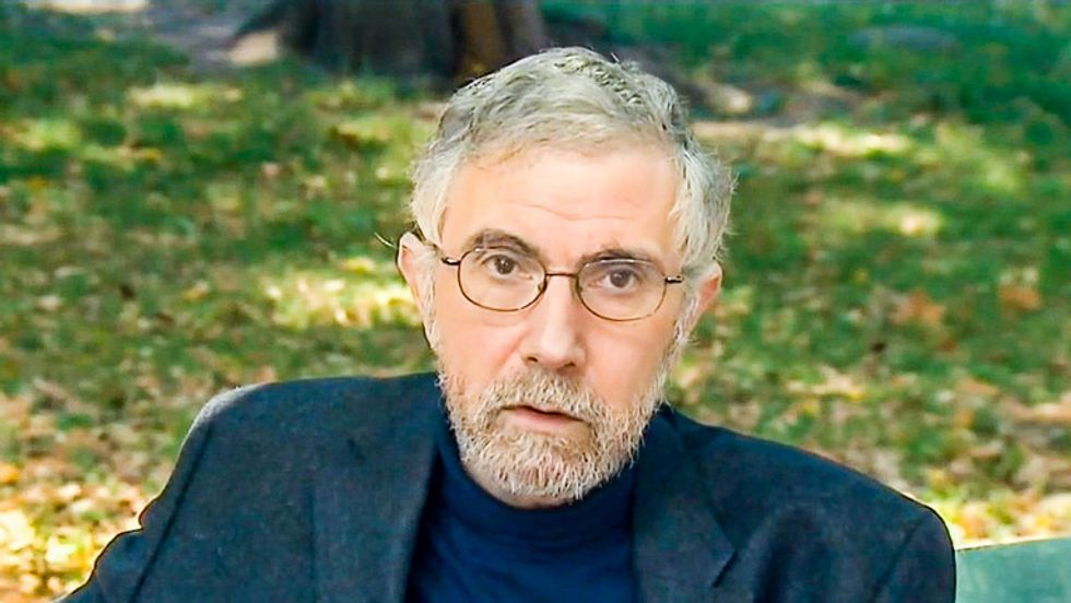 'The Death Belt': Paul Krugman explains how red states' hatred of regulation is killing their own citizens