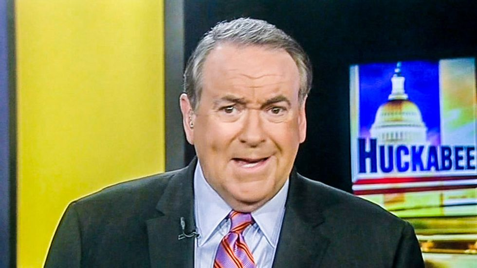 Bitter Mike Huckabee says Christian groups would rather rake in dough than see President Huckabee end abortion