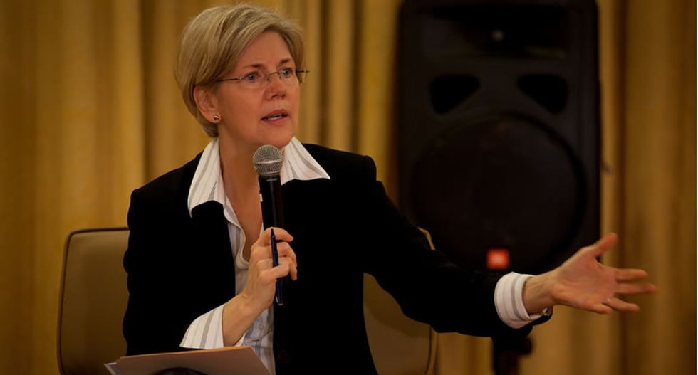Elizabeth Warren promoted as Senate selects party leaders