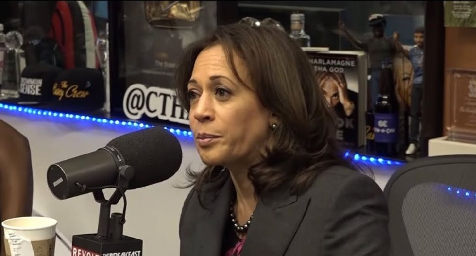 Ousted Fox News pundit asks Republican congressman if Kamala Harris' blackness is 'sexy or not'