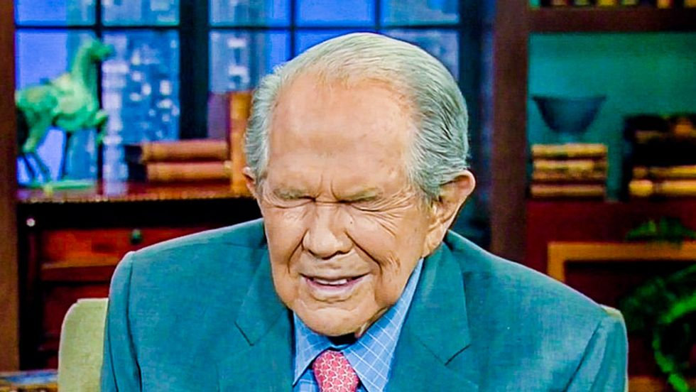 Pat Robertson: Hollywood is going to force us to watch homosexuals until Jesus comes back