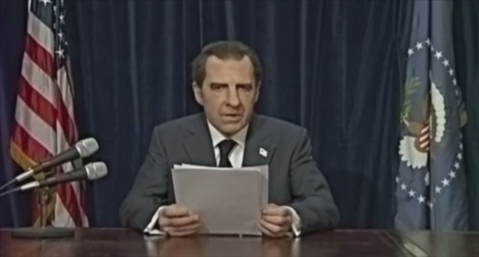 Harry Shearer webseries re-enacts Richard Nixon's troubled final moments in office
