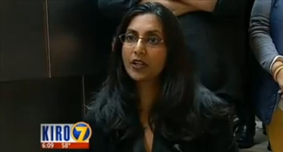 'I will tattoo a swastika on your head': Seattle councilwoman threatened after calling for Trump protests