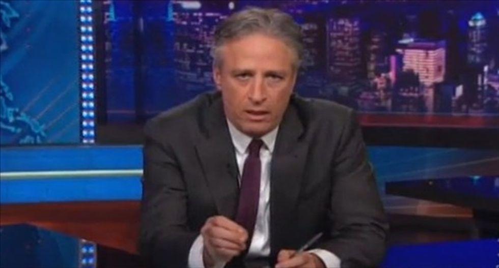 Jon Stewart blasts Mitch McConnell's 'complete bullsh*t' bipartisan act