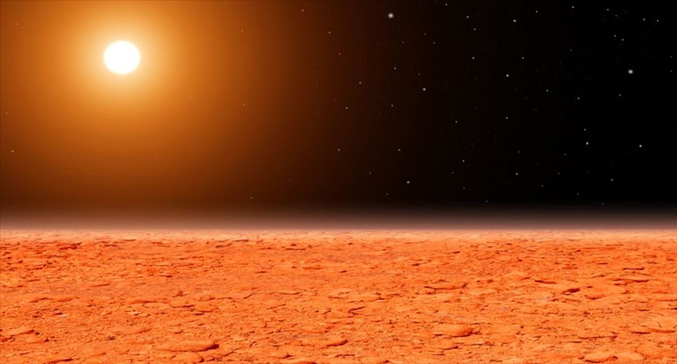 Mysterious 'cloud' over Mars leaves scientists baffled