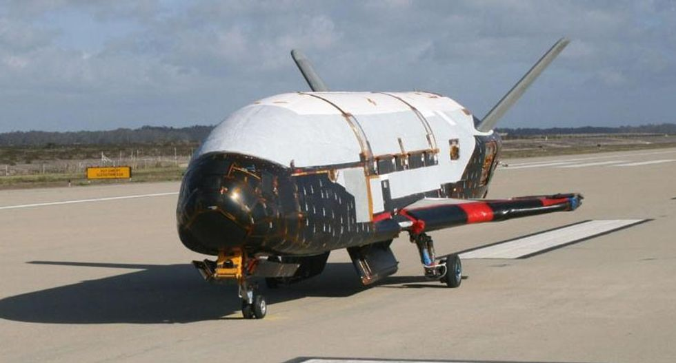 US military's mysterious X-37B space drone due to land this week