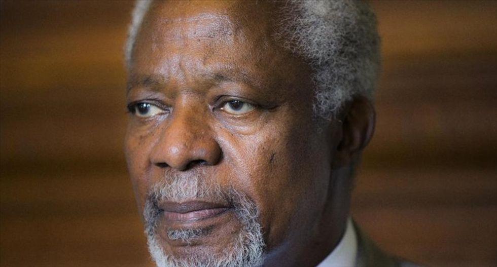 Former UN chief and Nobel peace laureate Kofi Annan dies aged 80