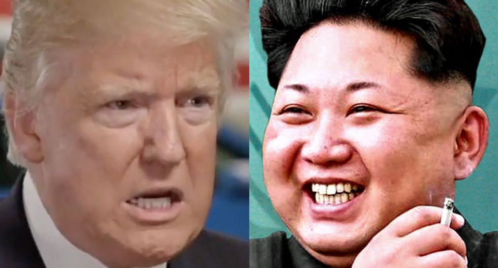 Trump said North Korea 'called up a couple of days ago' — turns out he was talking about South Korea's President Moon