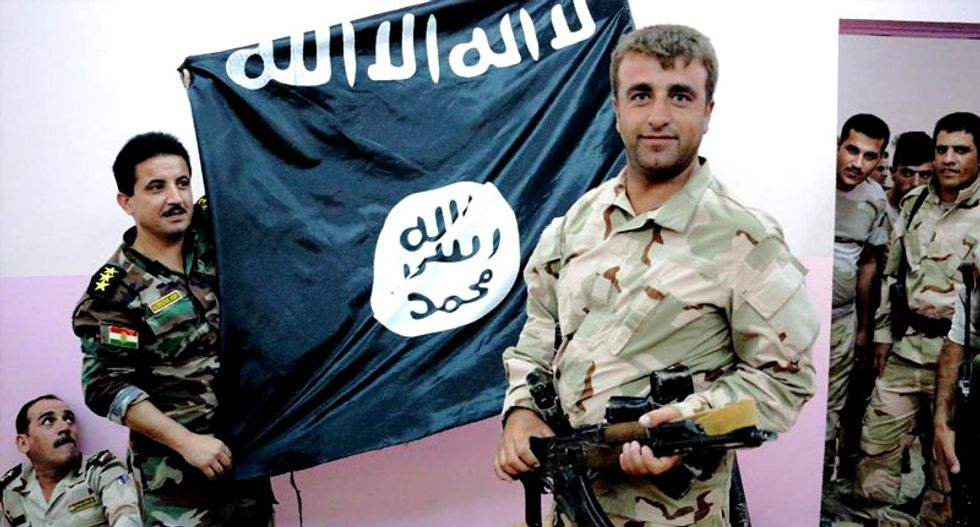 Kurds put a bullet through Islamic State jihadist's head after he refuses to stop begging for death: report