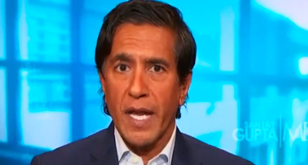 Dr. Sanjay Gupta calls out Trump's doctor 'leaving out really critical health details' because they're unflattering