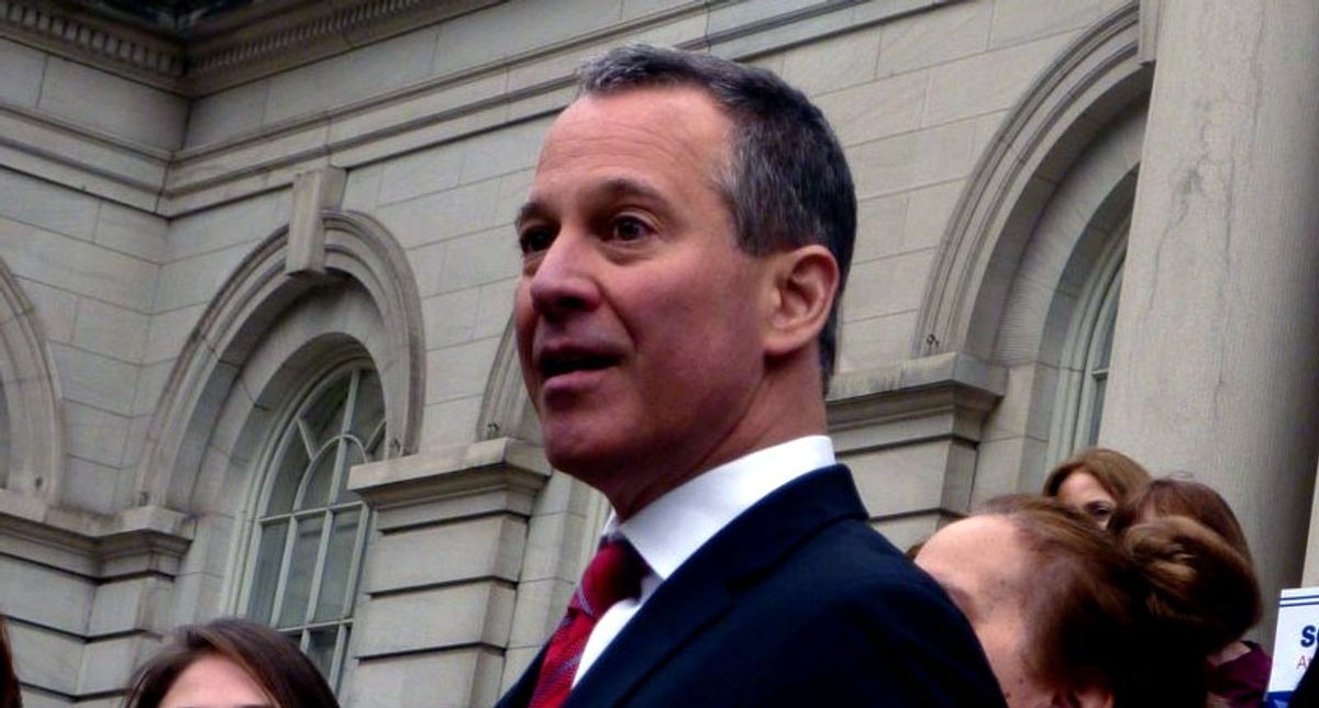 He was New York's attorney general -- now his law license has been suspended: report