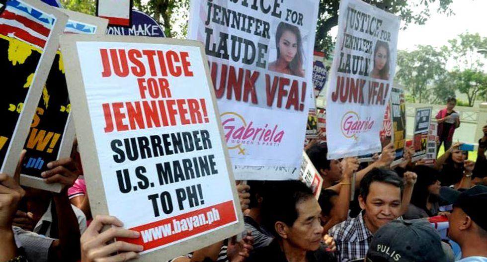 Victim's family demand jail for US Marine who allegedly murdered transgender Filipino