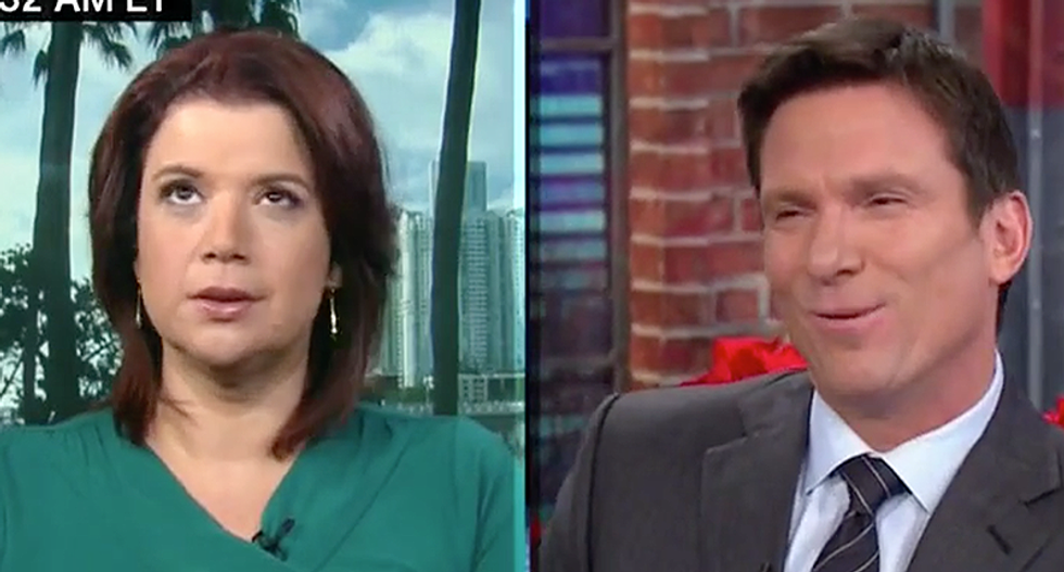 'The Battle of Fruitcake': Ana Navarro and CNN host crack up over Trump fighting the 'War on Christmas'