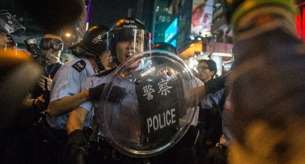 'They've lost their minds': Multiple arrests as Hong Kong protesters retake protest camp