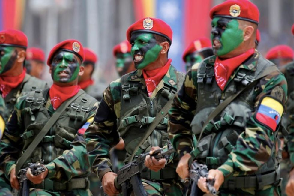 Trump to say Venezuela's military at risk for supporting Maduro