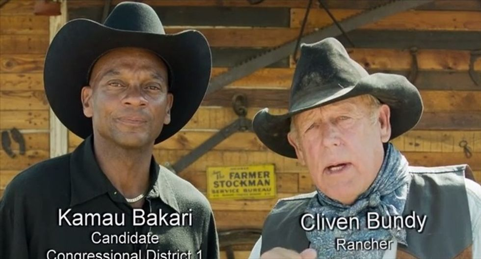 Black Nevada conservative and 'brave white man' Cliven Bundy call Eric Holder out