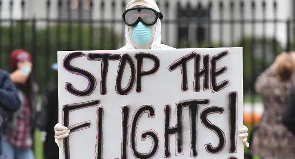 Obama calls for an end to Ebola 'hysteria'