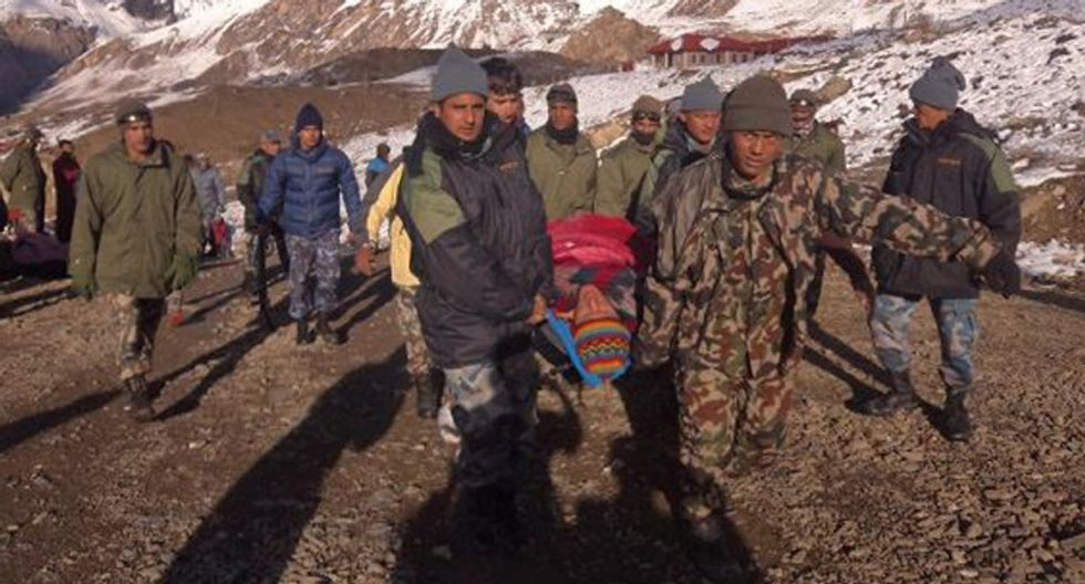 Stranded hikers in storm-hit Himalayas are 'safe'