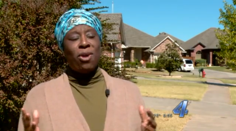 Oklahoma Muslim says she was asked to sign petition telling Muslims to 'go home'