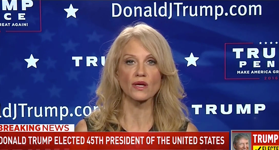 'All in good time': Kellyanne Conway refuses to rule out special prosecutor for Hillary Clinton