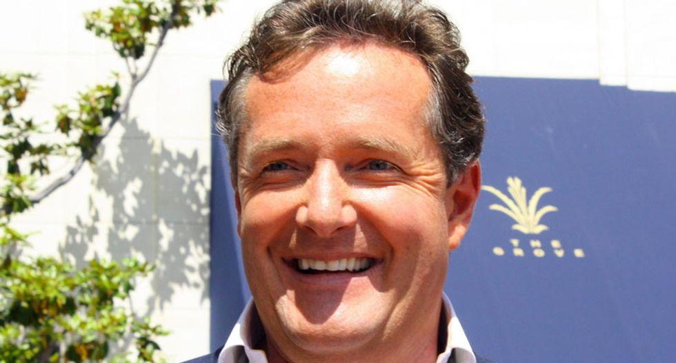 Piers Morgan calls Russell Brand a 'bogus revolutionary' for mocking Donald Trump