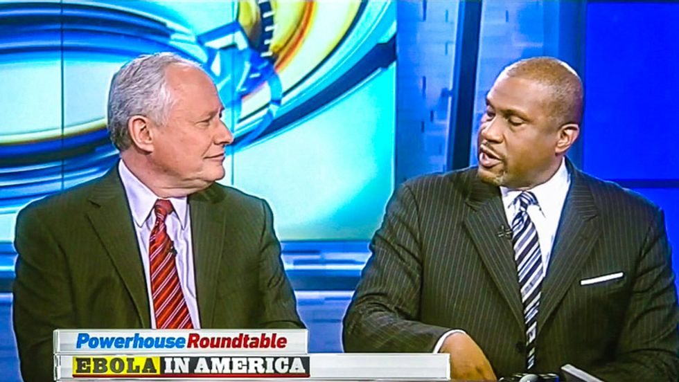 Tavis Smiley rips Bill Kristol: You are 'the worst of America' for using Ebola in politics