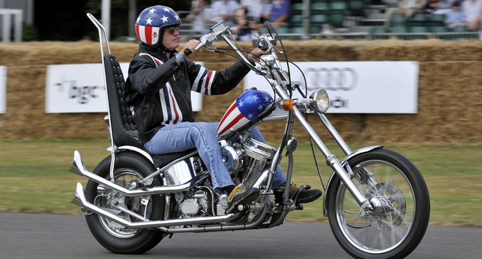 Iconic 'Captain America' chopper from 'Easy Rider' auctioned off for $1.35 million