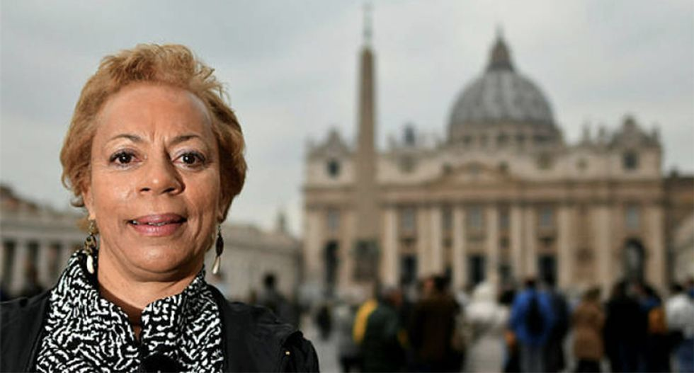 Victims of Catholic Church sexual abuse go global with fight for justice