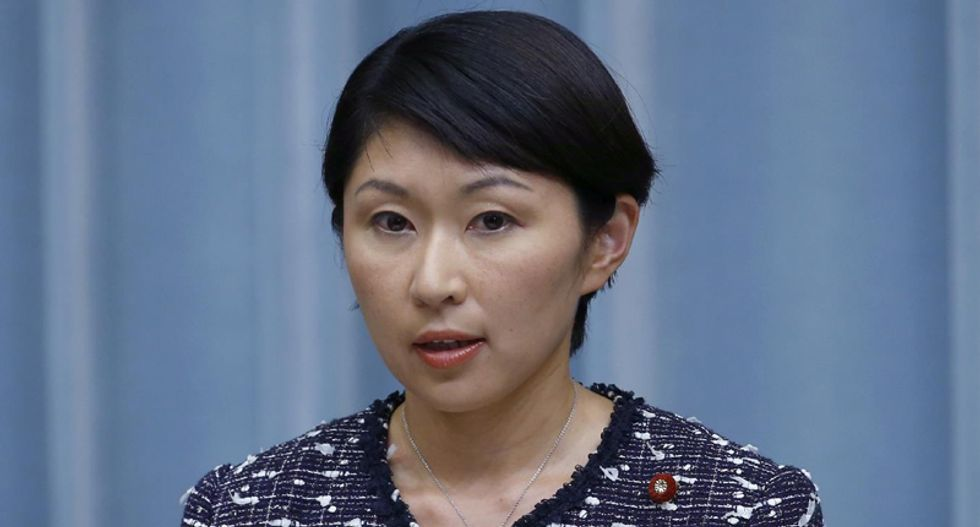 Japan trade minister resigns over claims she used political funds to buy votes, make-up