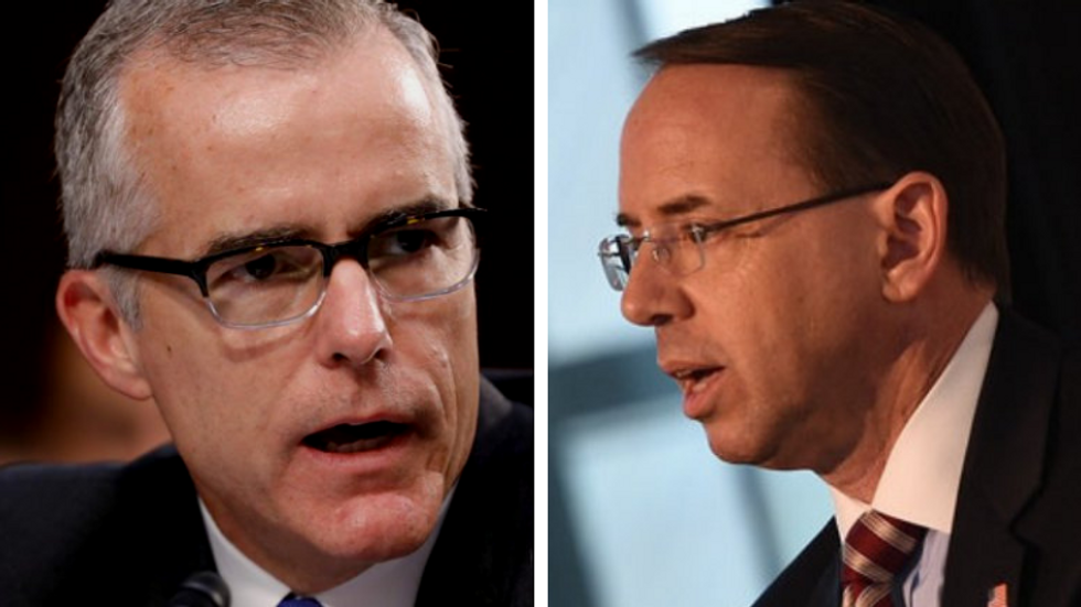 Rosenstein and McCabe should be waterboarded by CIA head for 'conspiring' against Trump: Right-wing TV host