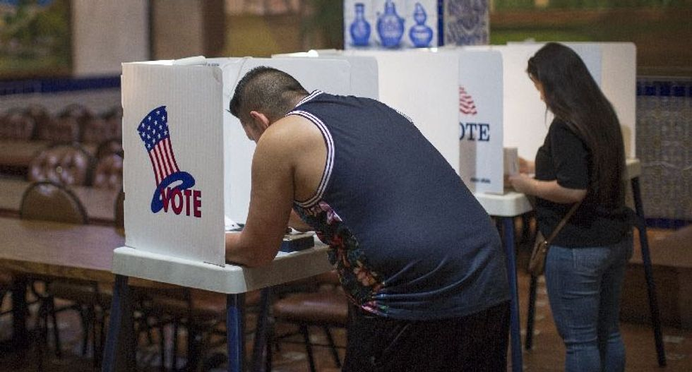 US judge finds Texas voter ID law was intended to discriminate
