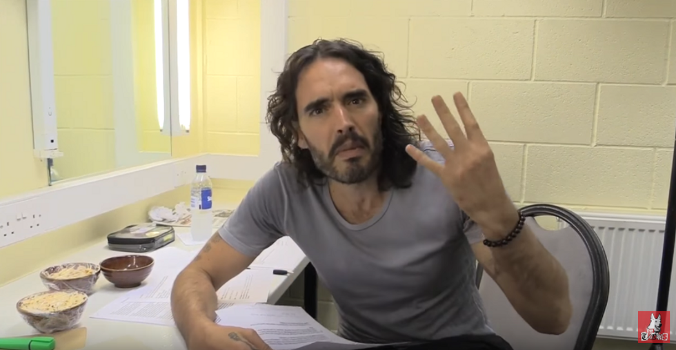'We have to provide an alternative': Russell Brand makes sense of the Trump disaster