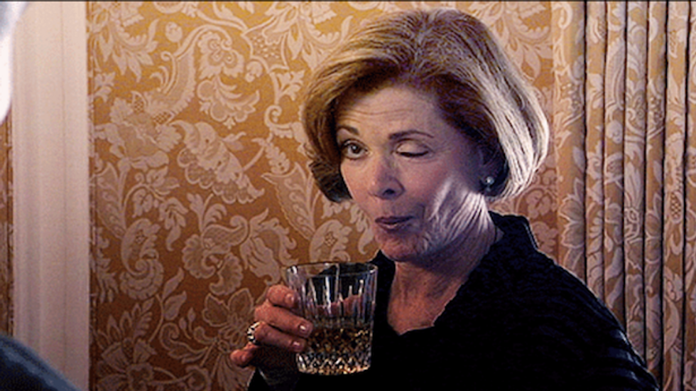 Finally! A medical reason to drink alcohol and a GIF guide on how