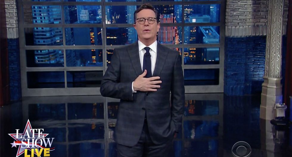 Stephen Colbert: 'This is what it feels like when America is made great again --- and it sucks'