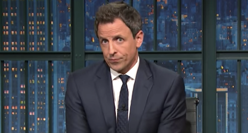 WATCH: Seth Meyers looks back at the 'political trainwreck' that was 2016