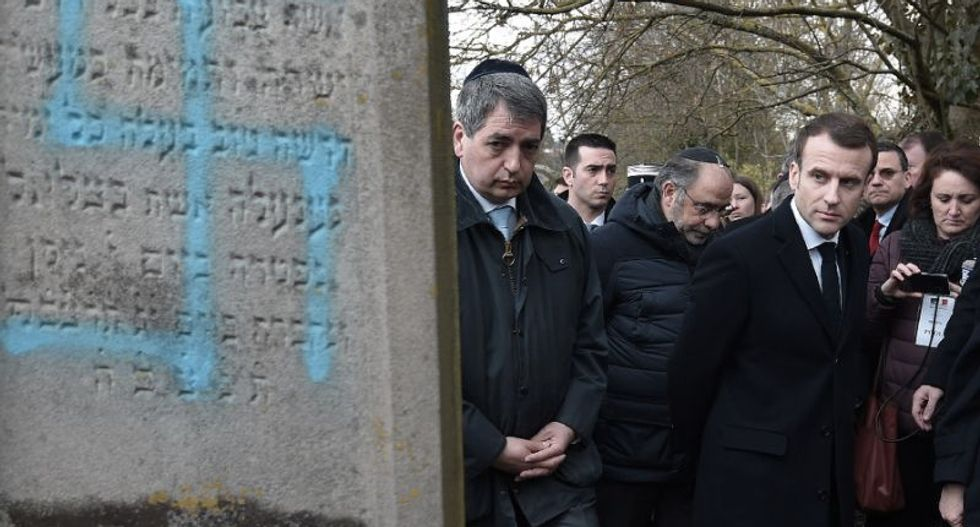 Anti-Semitism worst since WWII -- French president tells Jewish group