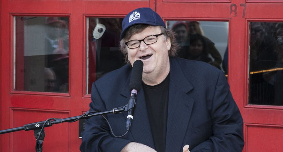 'Prepare to impeach Trump': Michael Moore reveals his plan to take down the GOP