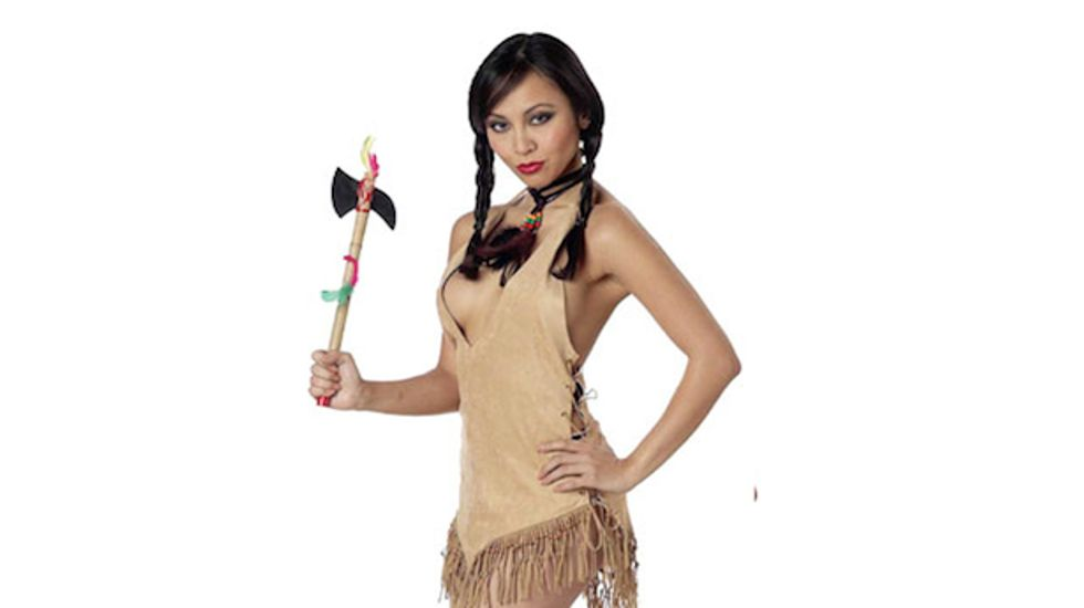 Nine Halloween costumes that are both sexist and racist and on sale right now!