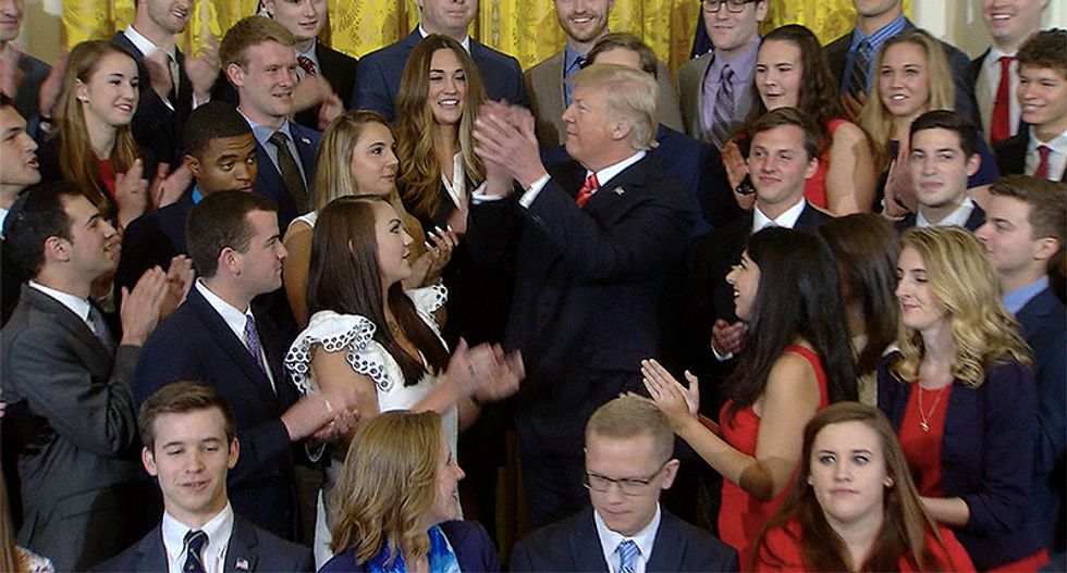 Trump's White House is gagging interns and threatening to financially destroy them