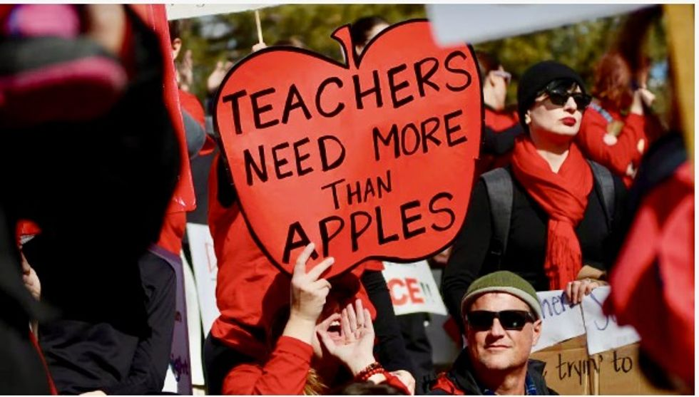 Latest teachers strike launched in Oakland, California