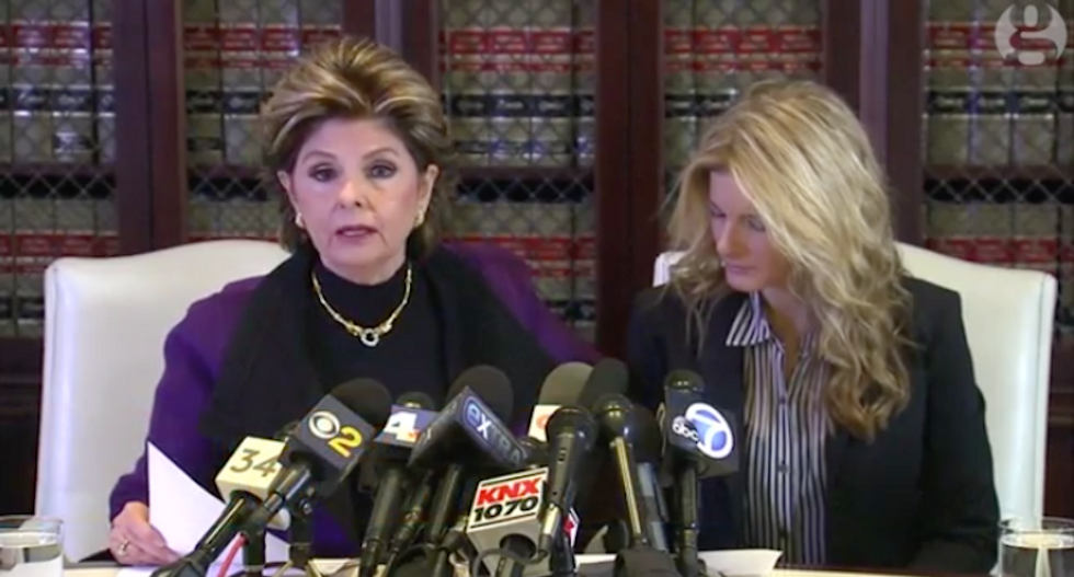 Gloria Allred won't rule out defamation suit: Trump accusers now facing 'world's most powerful man'