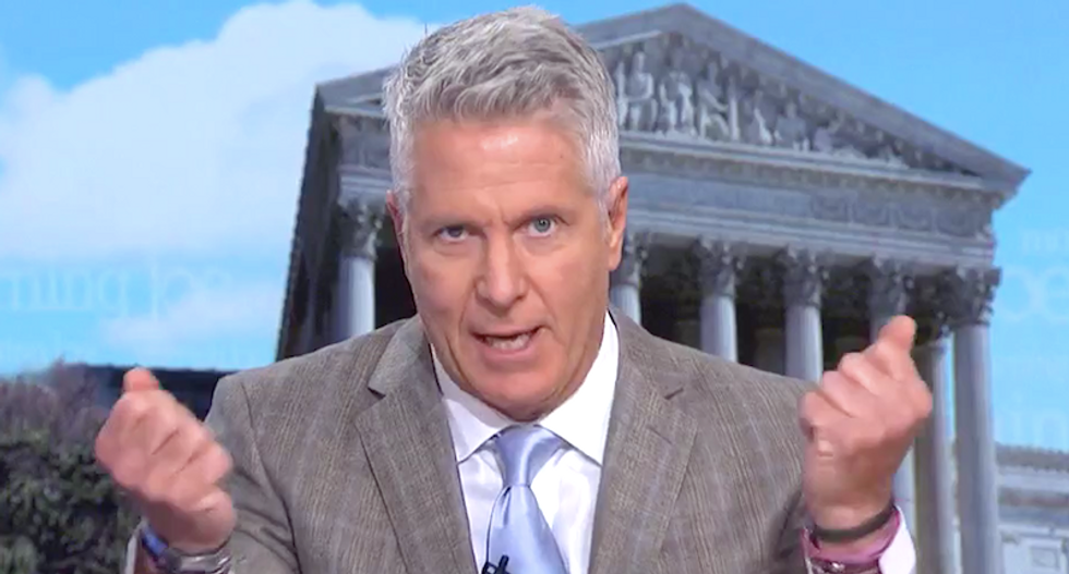 MSNBC's Donny Deutsch presses reporter to name names in Epstein scandal -- and drops some big hints
