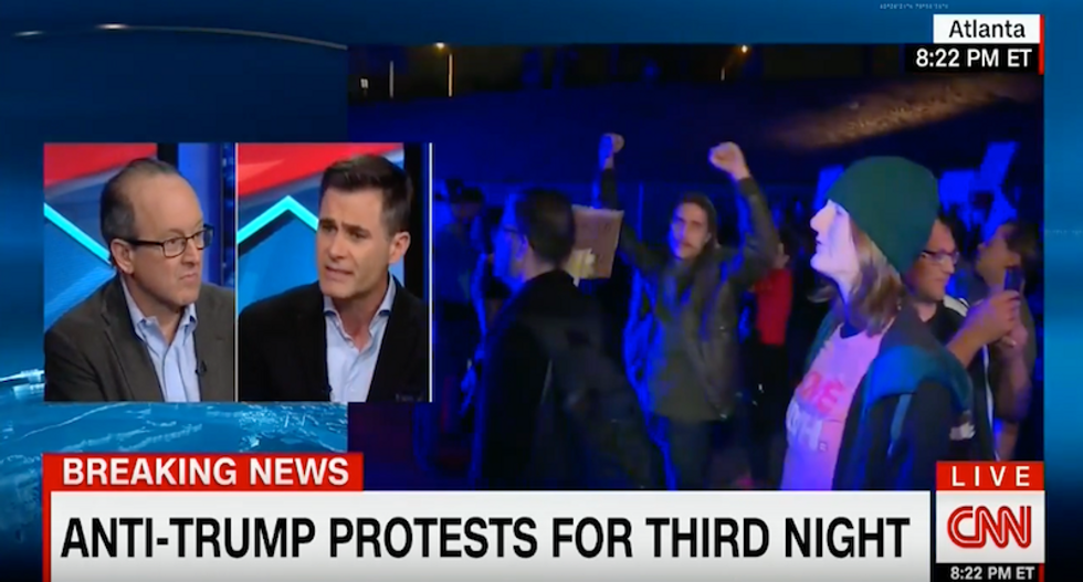 Trump surrogate sings Frozen's 'Let it go' to protestors — because he's 'the next great president'